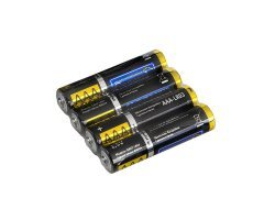 Батарейка щелочная LR03 (ААА), 1,5В уп.4шт General GBAT-LR03