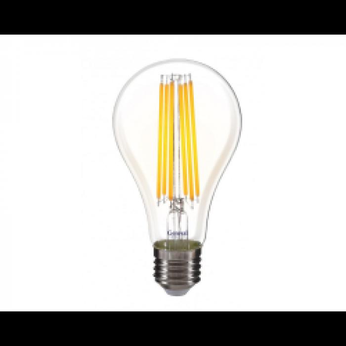 Светодиодная лампа Filament A65 20 Вт Нейтральный свет General GLDEN-A65S-20ВТ-230-E27-4500
