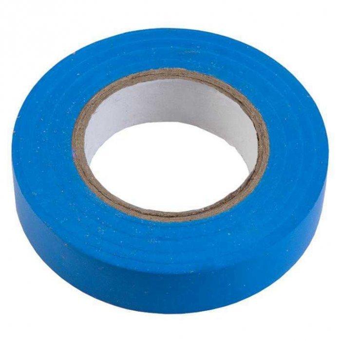 Изолента ПВХ 0.13х15мм, 20метров, синяя General GIT-13-15-20-B