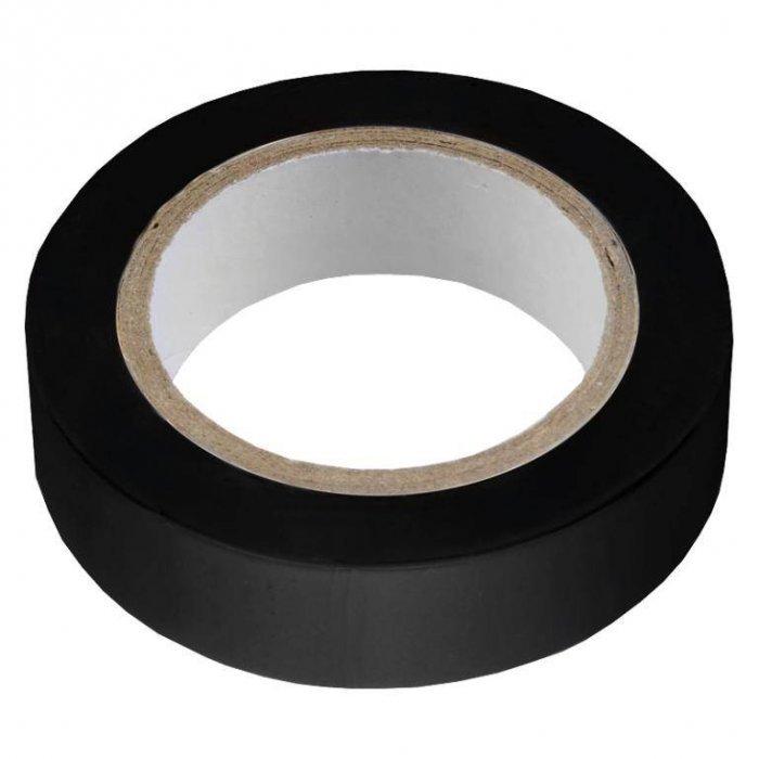 Изолента ПВХ 0.13х15мм, 10метров, черная General GIT-13-15-10-D