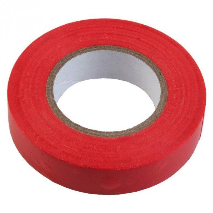 Изолента ПВХ 0.15х19мм, 20метров, красная General GIT-15-19-20-R