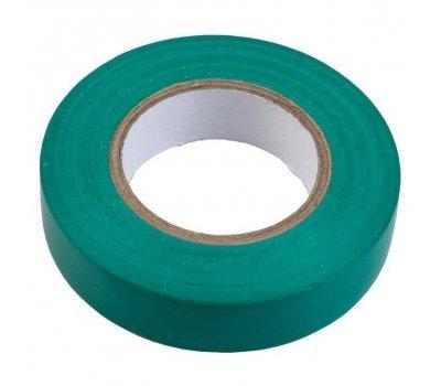 Изолента ПВХ 0.13х15мм, 10метров, зеленая General GIT-13-15-10-G