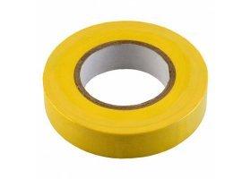 Изолента ПВХ 0.15х19мм, 20метров, желтая General GIT-15-19-20-Y