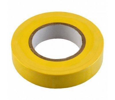 Изолента ПВХ 0.13х15мм, 10метров, желтая General GIT-13-15-10-Y