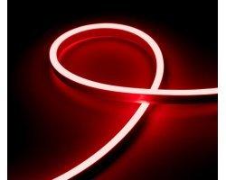 Гибкий Неон 12V 9,6 Вт/метр Красный 6х12 Мм General GLS-2835-120-9.6-220-NL-IP67-R блистер 5м