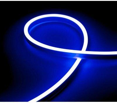 Гибкий Неон 12V 9,6 Вт/метр Синий 6х12 Мм General GLS-2835-120-9.6-220-NL-IP67-B катушка 50м