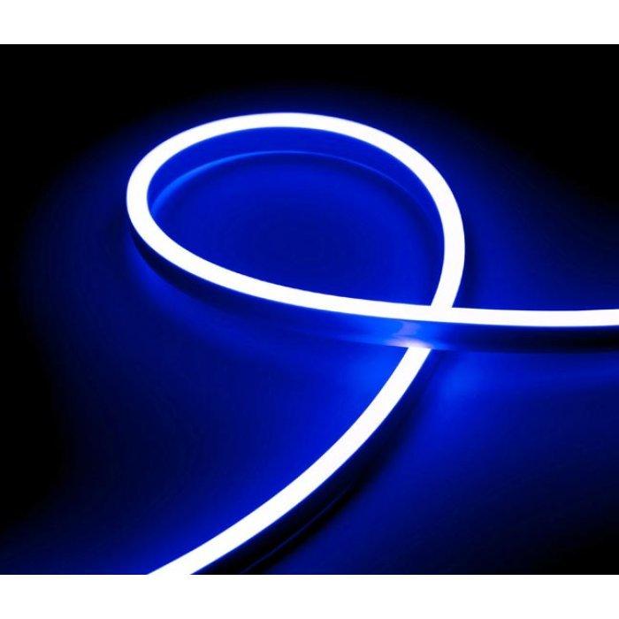 Гибкий Неон 12V 9,6 Вт/метр Синий 6х12 Мм General GLS-2835-120-9.6-220-NL-IP67-B блистер 5м