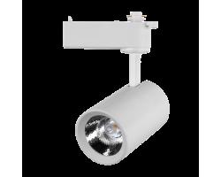 Светильник светодиодный трековый 10 Вт Нейтральный свет 1-фазный General GTR-10-1-IP20