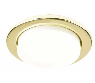 Встраиваемый светильник под лампу Gx53 87 Мм General GCL-10GX53-H38-G золото 10/10