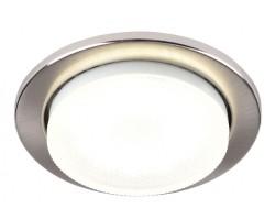 Встраиваемый светильник под лампу Gx53 90 Мм General GCL-GX53-H38-SN сатин-никель