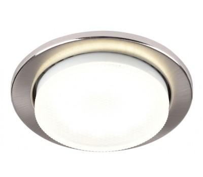 Встраиваемый светильник под лампу Gx53 87 Мм General GCL-10GX53-H38-SN сатин-никель 10/10