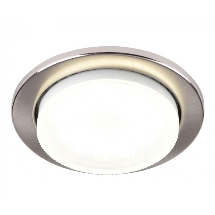 Встраиваемый светильник под лампу Gx53 86 Мм Мм General GCL-10GX53-H18-SN сатин-никель 10/10