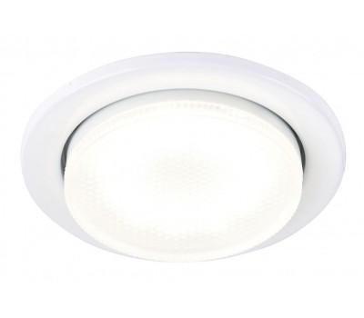 Встраиваемый светильник под лампу Gx53 90 Мм General GCL-GX53-H38-W белый
