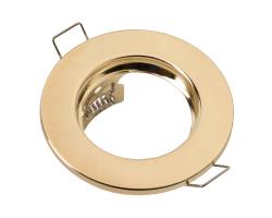 Встраиваемый светильник под лампу Mr 16 плоский General GCL-MR16-A-G золото 2/2
