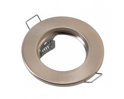 Встраиваемый светильник под лампу Mr 16 плоский General GCL-MR16-A-SN сатин-никель 2/2