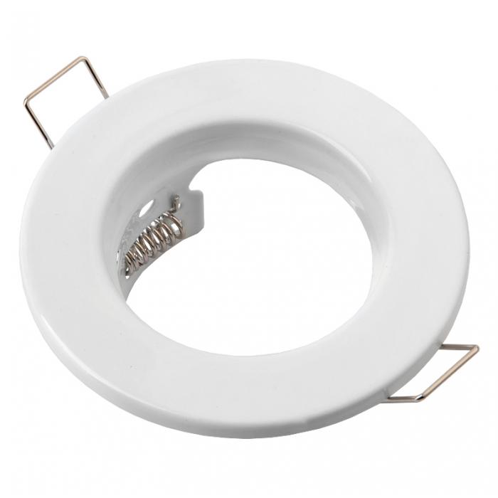 Встраиваемый светильник под лампу Mr 16 плоский General GCL-MR16-A-W белый 2/2
