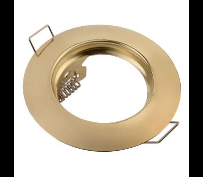 Встраиваемый светильник под лампу Mr 16 выпуклый General GCL-MR16-B-G золото 2/2