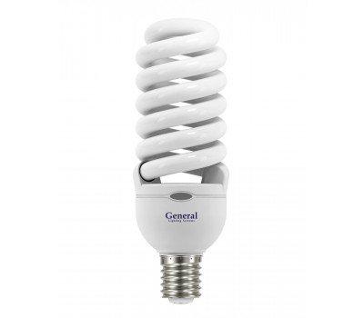 Люминисцентная лампа 55 Вт Нейтральный свет Genera GFSPH 55 E27 4000