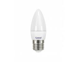 Светодиодная лампа 3CF 7 Вт Нейтральный свет General GLDEN-3CF-7-230-E14-4500