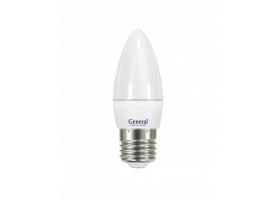 Светодиодная лампа CF 8 Вт Теплый свет General GLDEN-CF-8-230-E27-2700