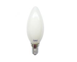 Светодиодная лампа Filament матовая CS 6 Вт Нейтральный свет General GLDEN-CS-M-6-230-E14-4500