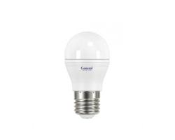 Светодиодная лампа G45 8 Вт Холодный свет General GLDEN-G45F-P-8-230-E27-2700