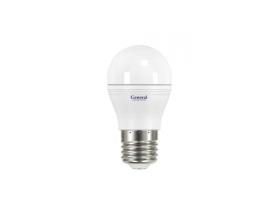 Светодиодная лампа G45 7 Вт Теплый свет General GLDEN-G45F-7-230-E27-2700