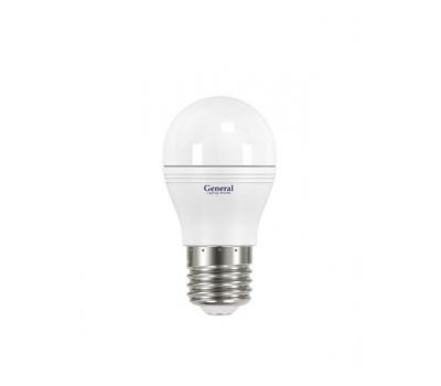 Светодиодная лампа G45 8 Вт Холодный свет General GLDEN-G45F-P-8-230-E27-6500