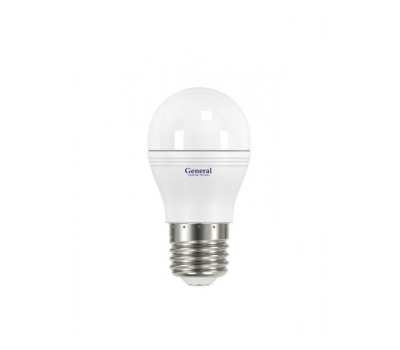 Светодиодная лампа 3G45 8 Вт Теплый свет General GLDEN-3G45F-8-230-E27-2700