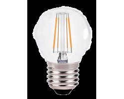 Светодиодная лампа Filament прозрачная G45 6 Вт Нейтральный свет General GLDEN-G45S-6-230-E27-4500