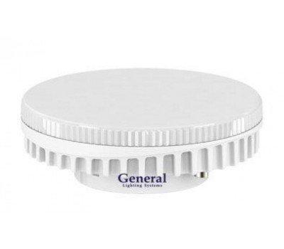 Светодиодная лампа GX53 9 Вт Нейтральный свет General GLDEN-GX53-9-230-GX53-4500