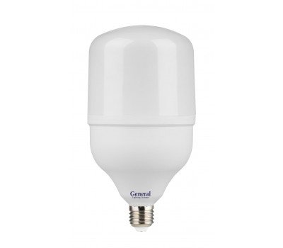 Высокомощная светодиодная лампа HPL 80 Вт Холодный свет General GLDEN-HPL-80ВТ-230-E27-6500