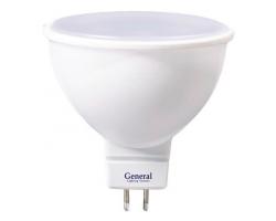 Светодиодная лампа MR16 10 Вт Нейтральный свет General GLDEN-MR16-10-230-GU5.3-4500