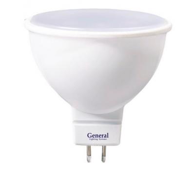 Светодиодная лампа MR16 8 Вт Нейтральный свет General GLDEN-MR16-8-230-GU5.3-4500