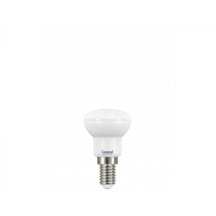 Светодиодная лампа R39 5 Вт Нейтральный свет General GLDEN-R39-5-230-E14-4500
