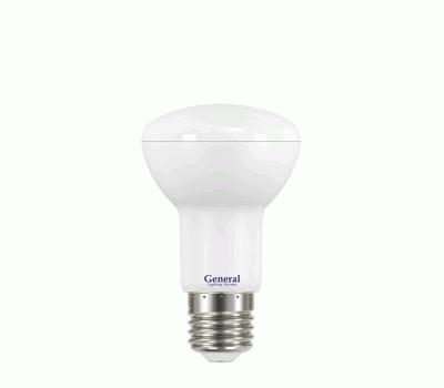 Светодиодная лампа R63 8 Вт Нейтральный свет General GLDEN-R63-8-230-E27-4500