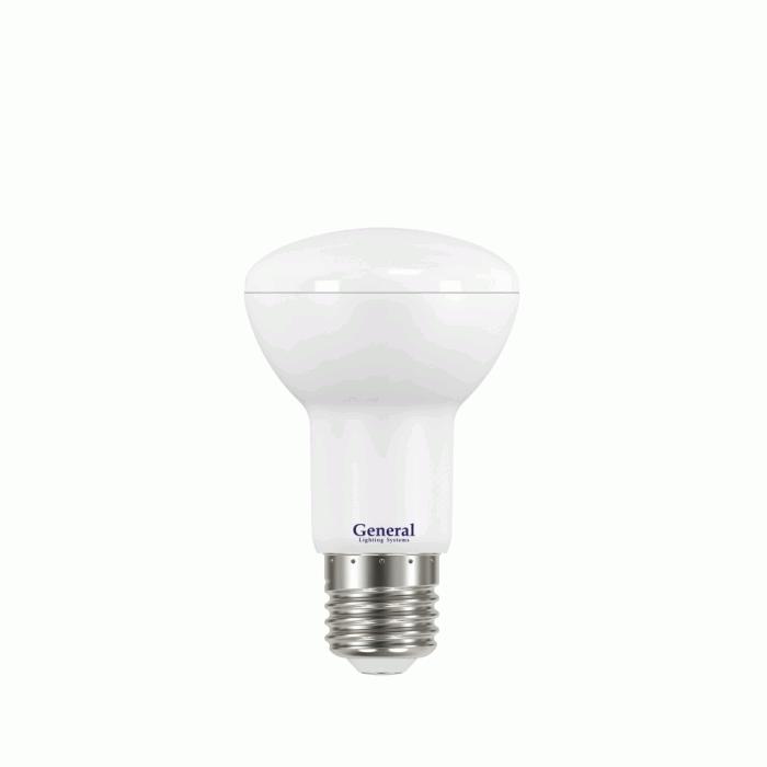 Светодиодная лампа R63 8 Вт Холодный свет General GLDEN-R63-8-230-E27-6500