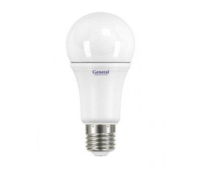 Светодиодная лампа А60 20 Вт Нейтральный свет General GLDEN-WA60-20-230-E27-4500
