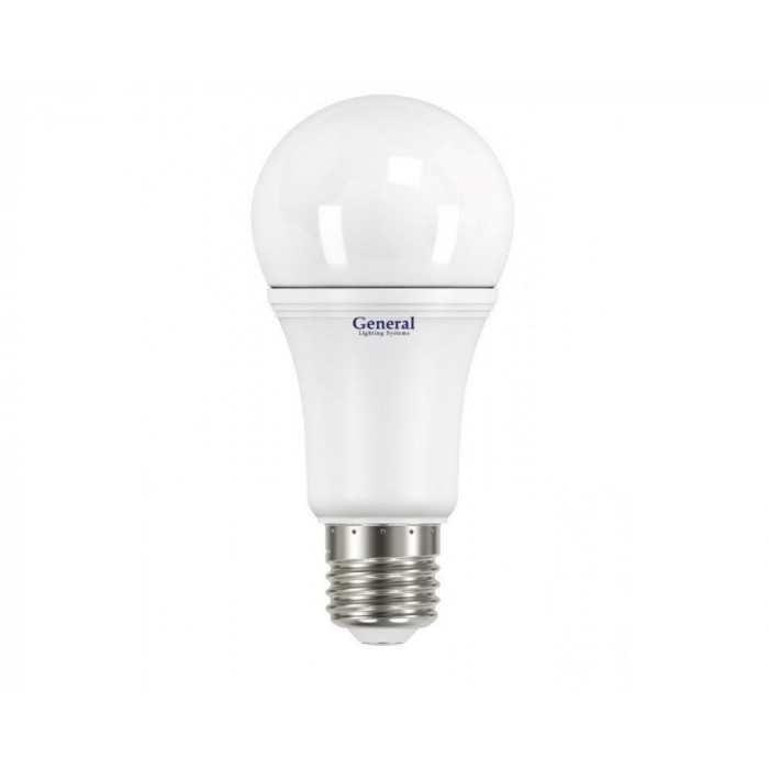 Светодиодная лампа A60 11 Вт Нейтральный свет General GLDEN-WA60P-11-230-E27-4500