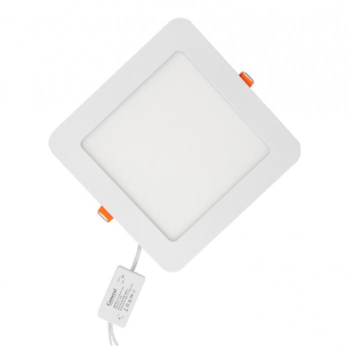 Встраиваемый сведодиодный светильник 18 Вт Нейтральный свет General GLP-SW13-225-18-4