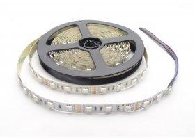 Светодиодная лента 14,4 Вт RGB General +Холодный GLS-5050-60-14.4-12-IP20-RGB+6