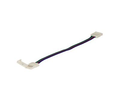 Коннектор гибкий двухсторонний для светодиодной ленты RGB General GSC10-RGB-SCS-IP20 уп. по 10 шт