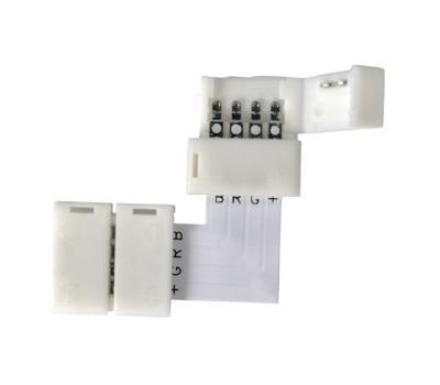 Коннектор угловой для светодиодной ленты RGB General GSC10-RGB-SLS-IP20 уп. по 10 шт