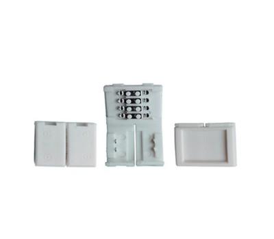 Коннектор жесткого соединениия для светоидиодной ленты RGB General GSC10-RGBW-SS-IP20 уп. по 10 шт