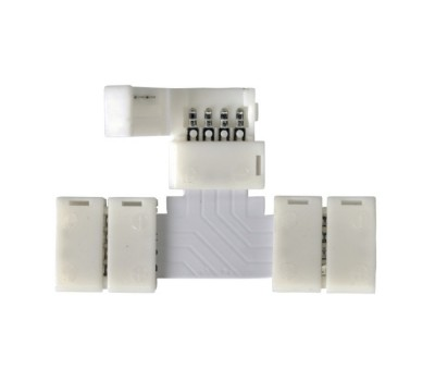 Коннектор Т-образный для светодиодной ленты RGB General GSC10-RGB-STS-IP20  уп. по 10 шт
