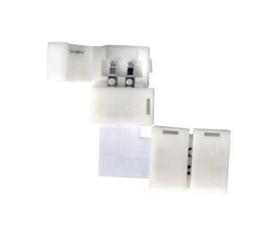 Коннектор угловой для светодиодной ленты 2835/3528 General GSC8-SLS-IP20   уп. по 10 шт
