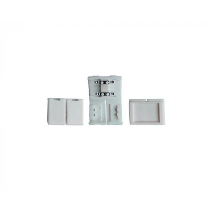 Коннектор жесткого соединениия для светоидиодной ленты 2835/3528 General GSC8-SS-IP20 уп. по 10 шт