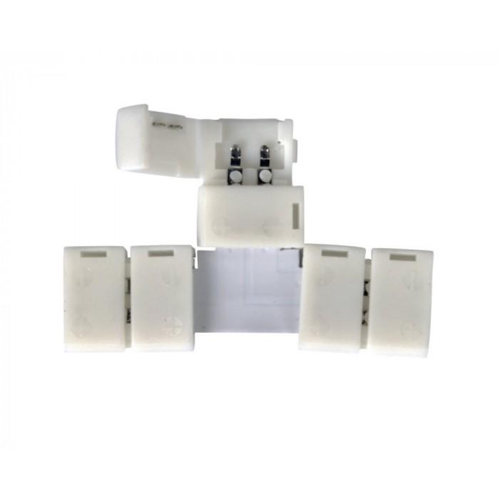 Коннектор Т-образный для светодиодной ленты 5050/5730 General GSC10-STS-IP20 уп. по 10 шт