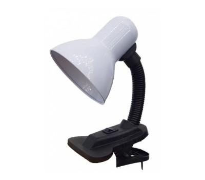 Лампа настольная на прещепке General GTL-021-60-220 белый