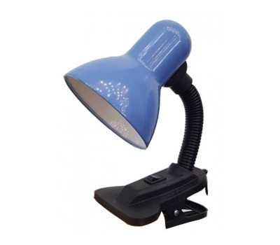 Лампа настольная на прещепке General GTL-023-60-220 синий